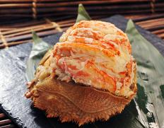 北海道産「毛蟹の甲羅詰め」「浜茹で毛蟹」はノンフローズンの特別品
