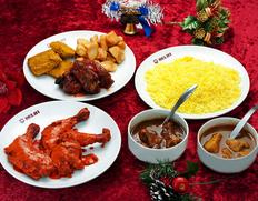 銀座デリーの「クリスマスディナー2020」インド・パキスタン料理の名店が演出