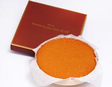 神戸の人気パティスリー「モンプリュ」のチーズケーキ
