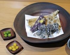銀座 天ぷら いわ井 『秋の天ぷら祭り』